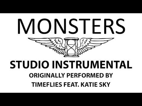Monsters (Cover Instrumental) [In the Style of Timeflies feat. Katie Sky]