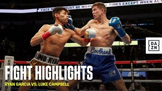 HIGHLIGHTS | Ryan Garcia vs. Luke Campbell