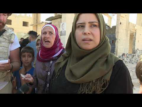 Harrowing scenes inside Syria's Idlib province