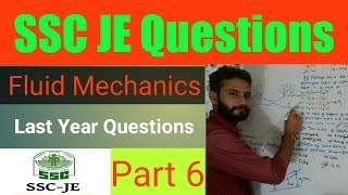 49) SSC JE Previous Year Questions - Part 6 | Fluid Mechanics ~ Hindi | Mechanical Engineering