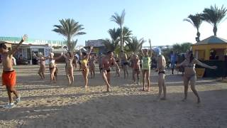 Вот так русские зажигают в Египте отель Golden 5 27/09/2014!!!(Было весело зажгли весь пляж!!!, 2014-10-07T17:35:00.000Z)