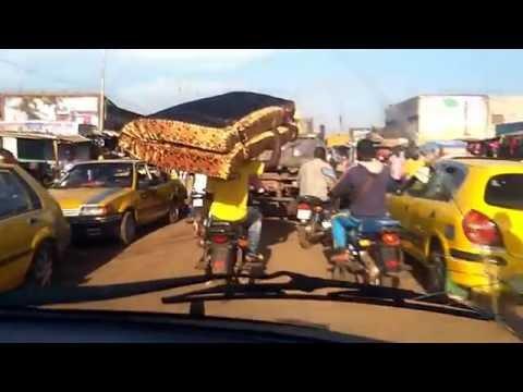 Quartier populaire ti Bangui