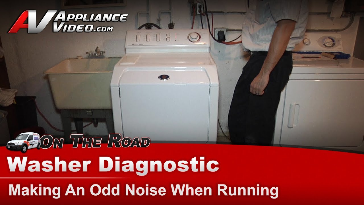 Maytag Washer Diagnostic Making An Odd Noise When