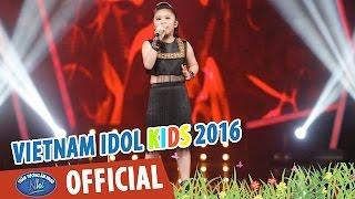 VIETNAM IDOL KIDS 2016 - GALA 3 - LK LY CÀ PHÊ BAN MÊ, NGỌN LỬA CAO NGUYÊN - BẢO TRÂN