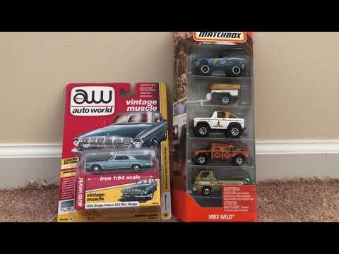 Quickie reviews: Auto World Dodge Polara & Matchbox Wild 5-pack