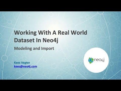 Neo4j: Import & Modelling