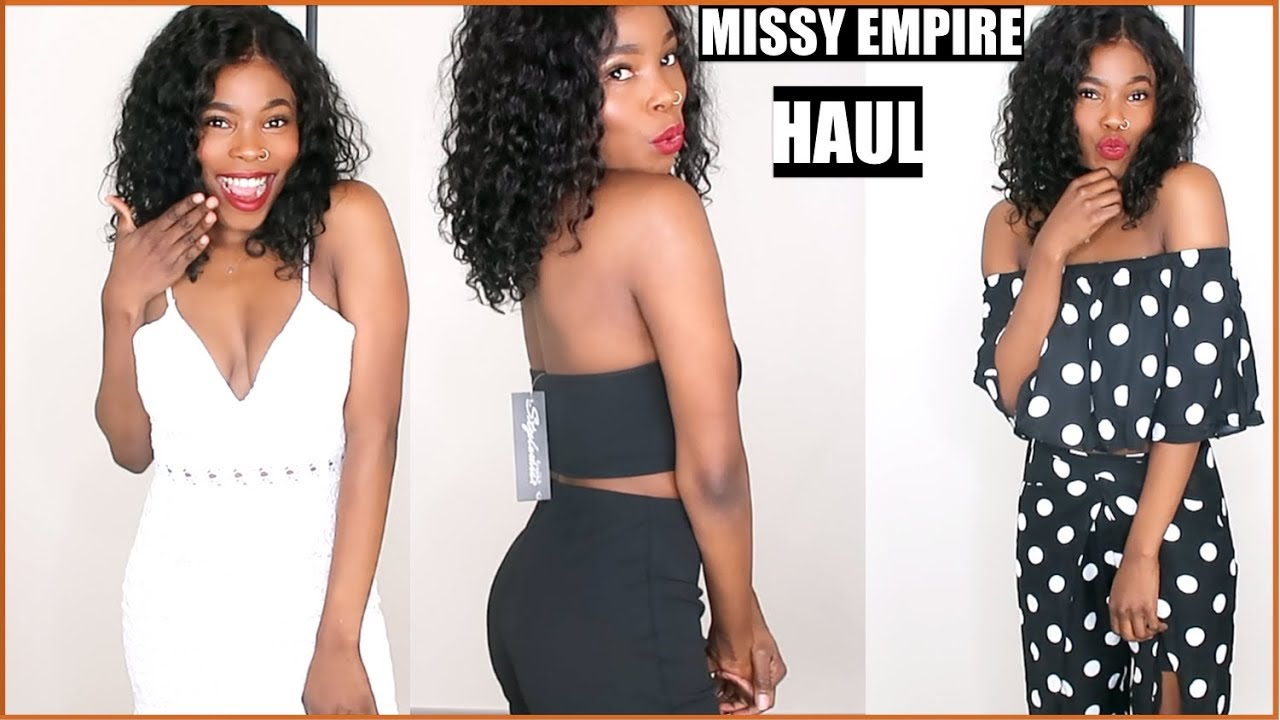 72f037fc914 HUGE MISSY EMPIRE SUMMER TRY ON HAUL | 2018 | MsElizJay - YouTube