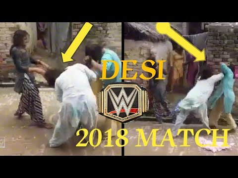 Wwe Raw Indian girl Desi Match only Girl's Fight 2018 match