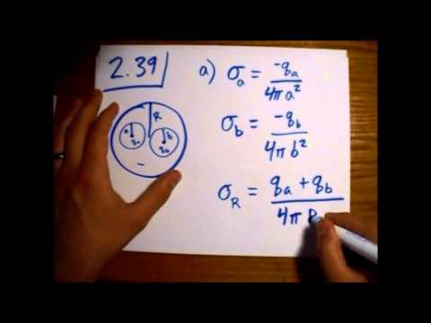Griffiths Electrodynamics Problem 2.39: Conducting Sphere with Charges in Cavities