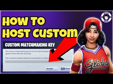 how to get matchmaking key fortnite
