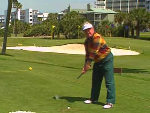 1994 Moe Norman golf swing demo - PGA Interview - Best ever (part 1 of 2)