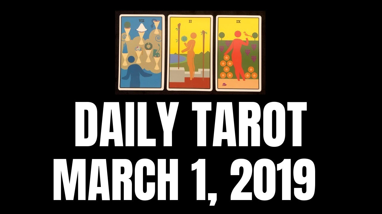 tarot reading march 1