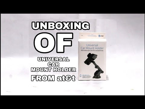 Unboxing and Review of Smartphone Car Holder from at&t