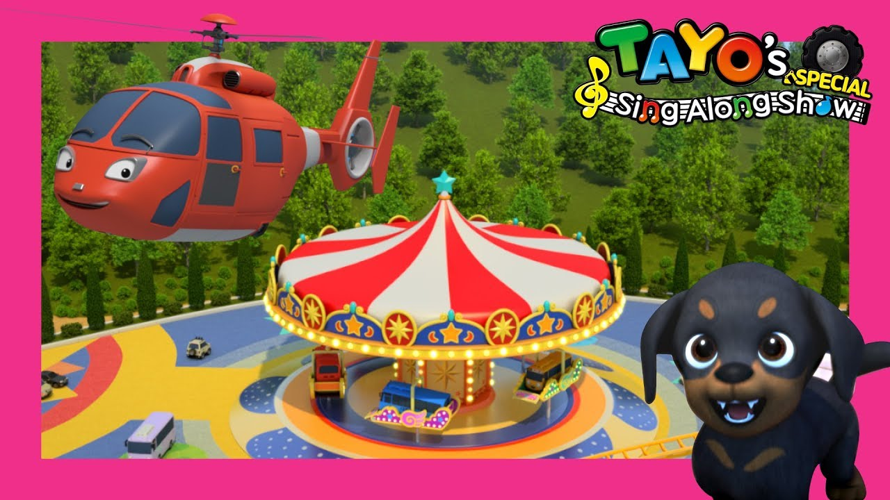 *NEW* Tayo Rescue Team Song l Air, the Brave Helicopter l Tayo Sing Along Special l The Brave Cars