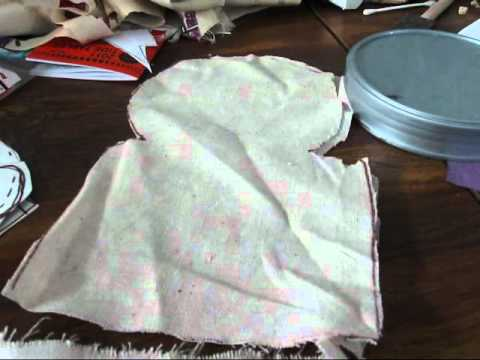 Basic Tutorial Pattern Design For Topsy Turvy Rag Doll Wmv Youtube