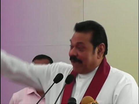 Mahinda Rajapaksa cracks a joke about Rajitha's son
