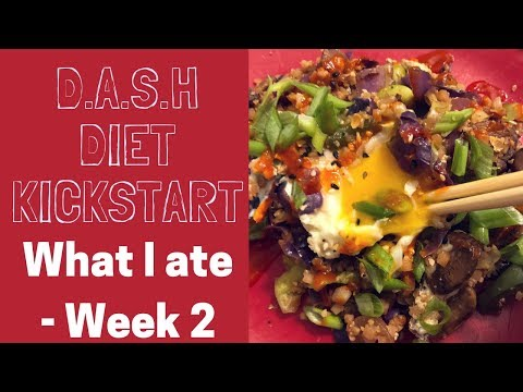 D.A.S.H. Diet Kickstart Week 2 Meal Ideas