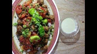 Zafrani Gola Kabab Recipe - Tasty Zafrani Gola Kabab by hamida dehlvi