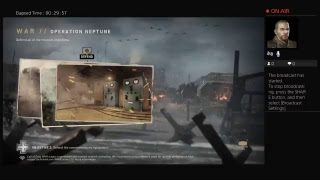 My live broadcast (COD WW2)