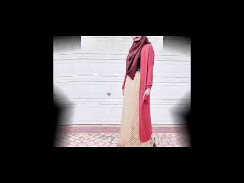 Model Baju Gamis Remaja Kekinian Ootd Modis Youtube