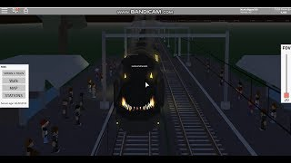 Roblox Terminal Railways: Chasing Traxxius the Destroyer (Halloween Special train).