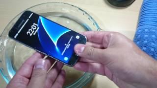Samsung Galaxy S7 é resistente a água ? teste de IP68