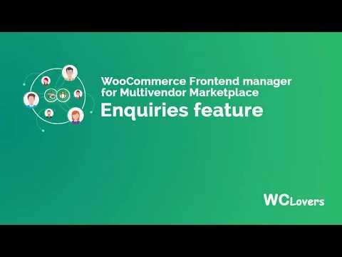 WCfM - Enquiry Module