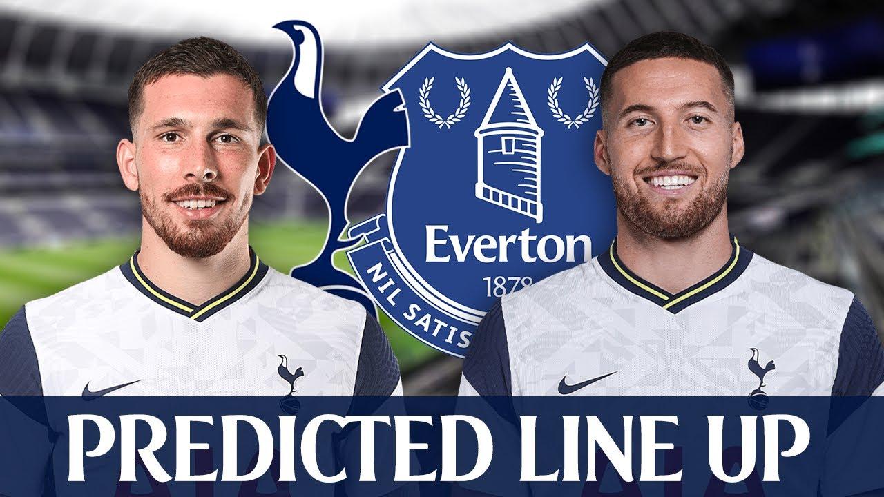 Tottenham Vs Everton [PREDICTED LINE-UP] - YouTube