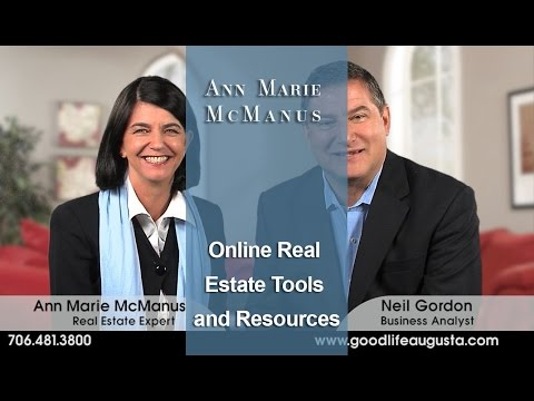 Augusta Georgia Real Estate Agent:  Online real estate tools and resources