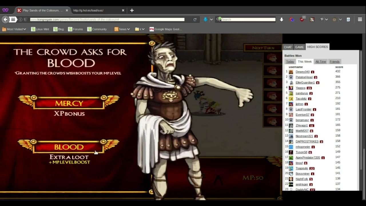 Sands Of The Coliseum] Game Progress Editor (Web Version
