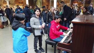 Queen Bohemian Rhapsody Piano Cover Medley Brings a Man to Tears Cole Lam 12 Years Old