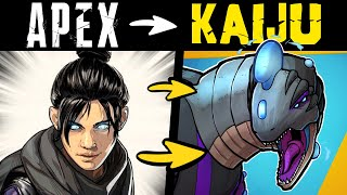 What if APEX LEGENDS Were KAIJU?! (Story and Speedpaint)