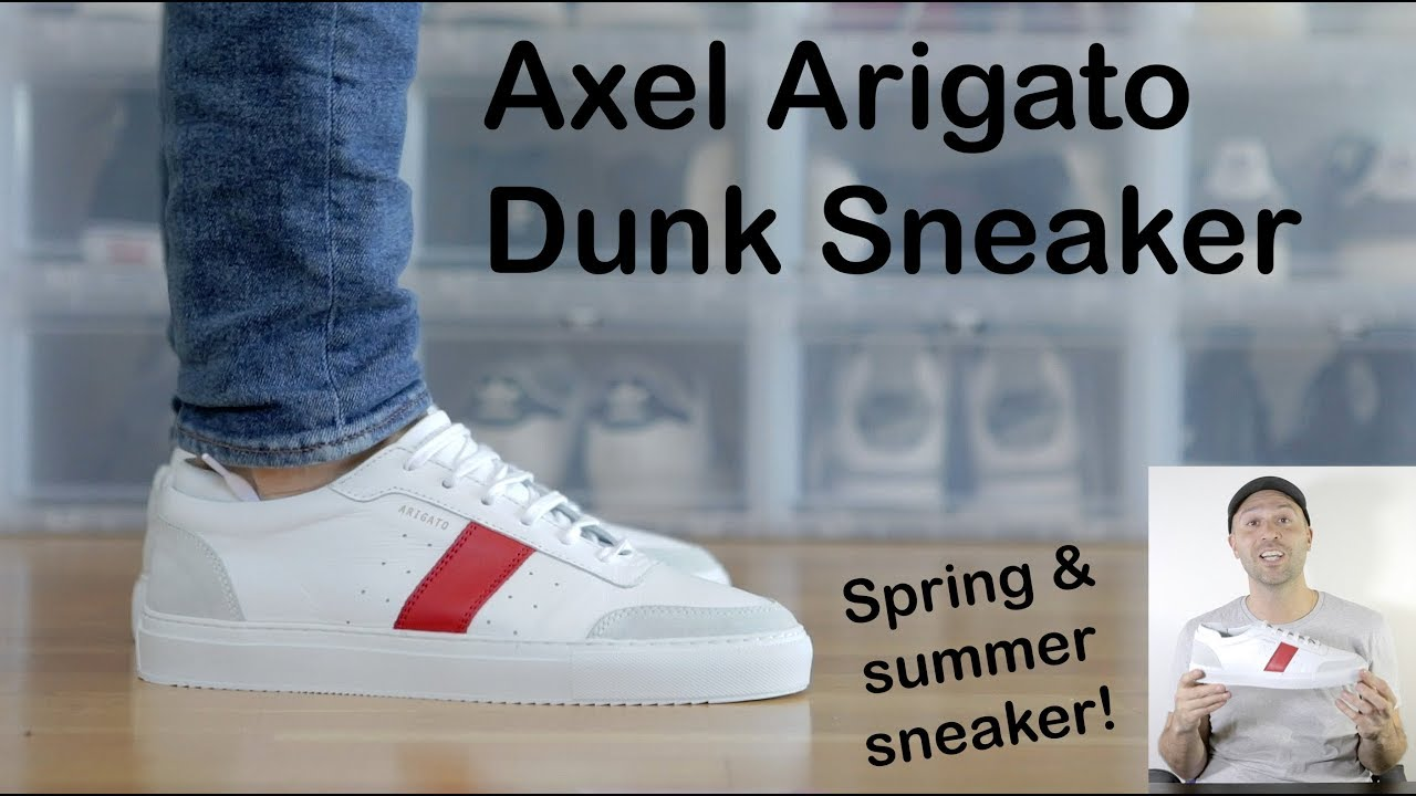 Axel Arigato Dunk Sneaker Red