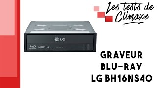 Présentation d'un graveur Blu-ray LG GRAV-BH16NS40-BULK (vidéo sans la voix)