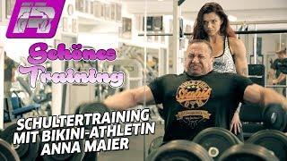 Schultertraining mit Anna Maier & Markus Rühl