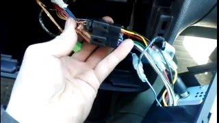 Установка магнитолы   шкода фабиа. Installing the radio in a Skoda Fabia.