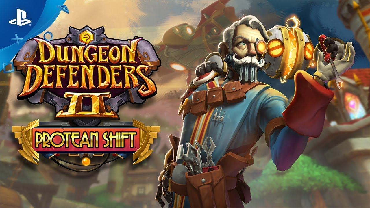 Dungeon Defenders II: Protean Shift - Release Trailer | PS4