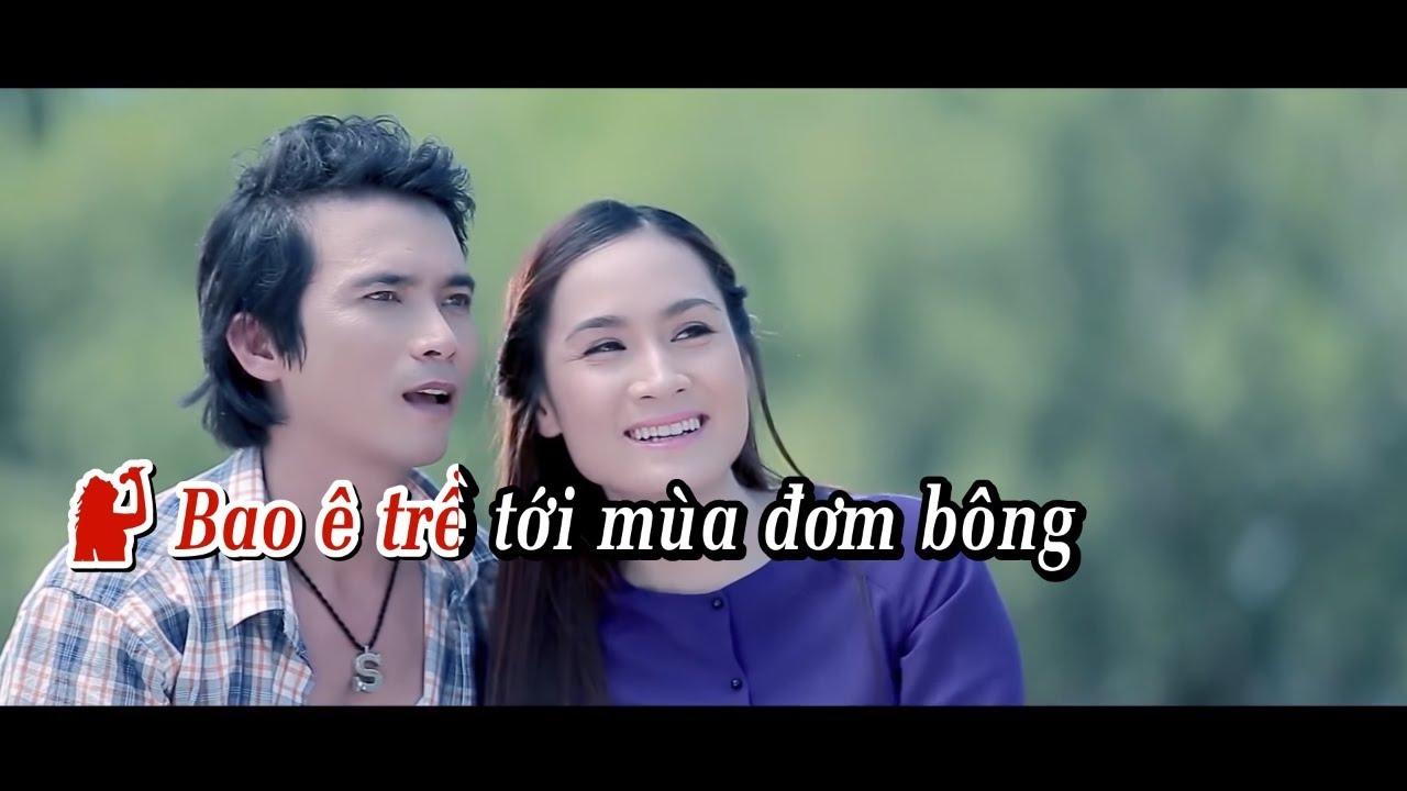 [Karaoke MV HD] Lk Về Quê 2 - Lê Sang ft. Giáng Tiên