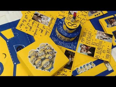 Minion explosion box