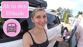 Familienbett beim Campen? I Neขes Hauszelt I Camping Urlaub I Family Vlog I AllesClärchen