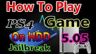 How To Backup Any PS4 Games To Usb HDD and Play Off Usb HDD