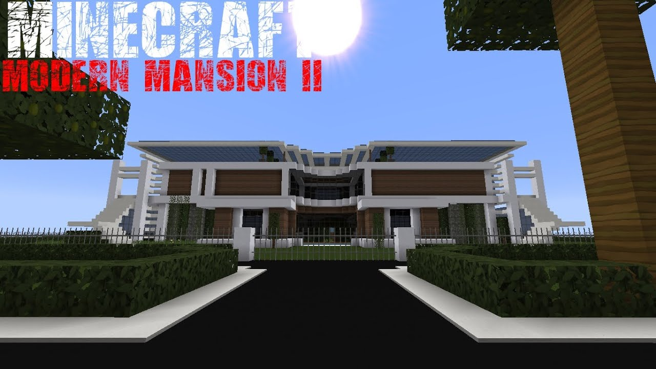 Minecraft Tour of My House Flows in HD Typhoon Cinema and