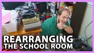 SCHOOL ROOM REARRANGING (7/28/18 - 7/29/18)
