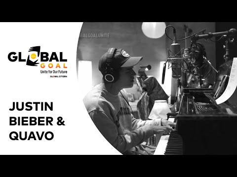 Justin Bieber and Quavo Perform 'Intentions' | Global Goal: Unite for Our Future