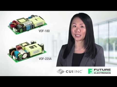 High Density AC-DC Power Supplies from CUI