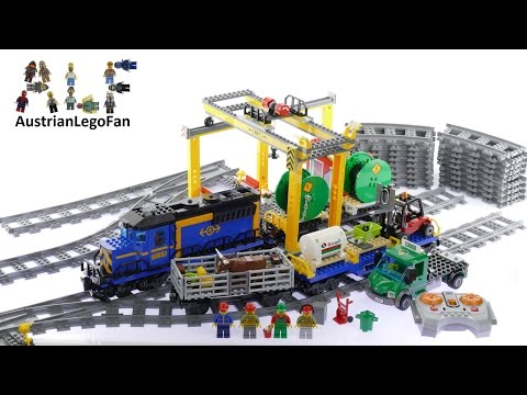 Lego City 60052 Cargo Train - Lego Speed Build Review