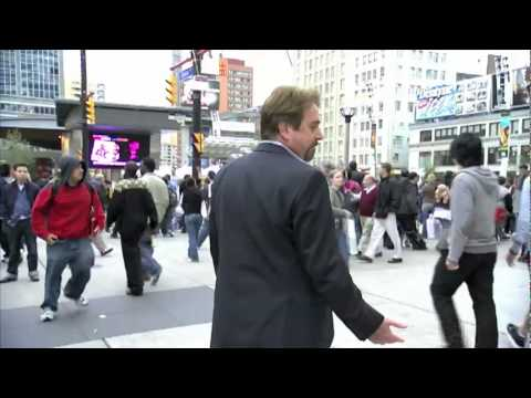 Rick Green & Patrick McKenna in Dundas Square (ADD & Loving it?! outtakes)