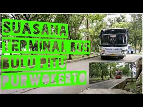Suasana Terminal Bus Bulu Pitu Purwokerto