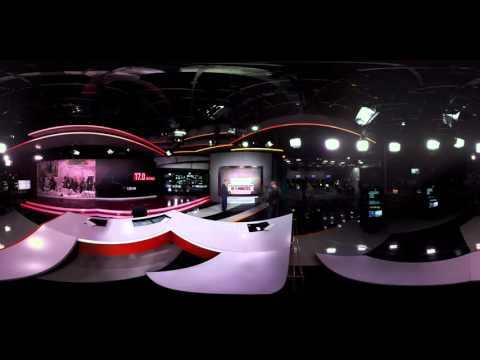 Inside RT: 360 video of real-time news broadcast from RT Moscow studio (EXCLUSIVE)