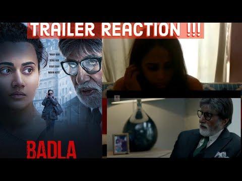 Badla | Trailer Reaction | Amitabh Bachchan | Taapsee Pannu | Fun Mania